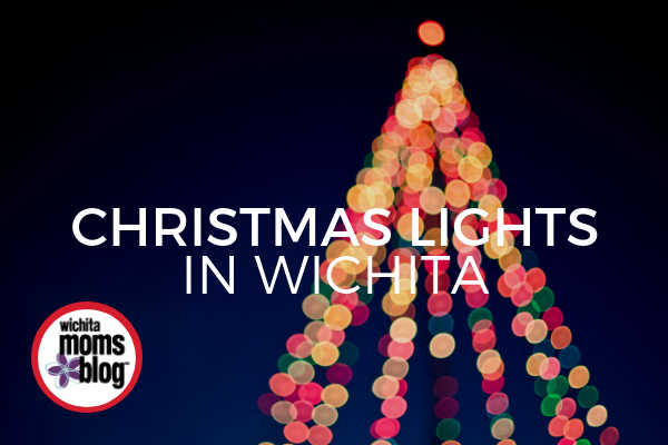 where to find christmas light displays in wichita with google map routes