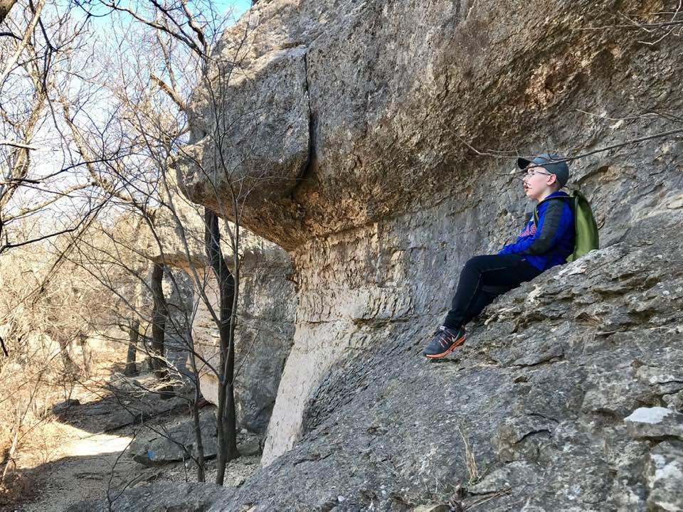 Hiking in Kansas