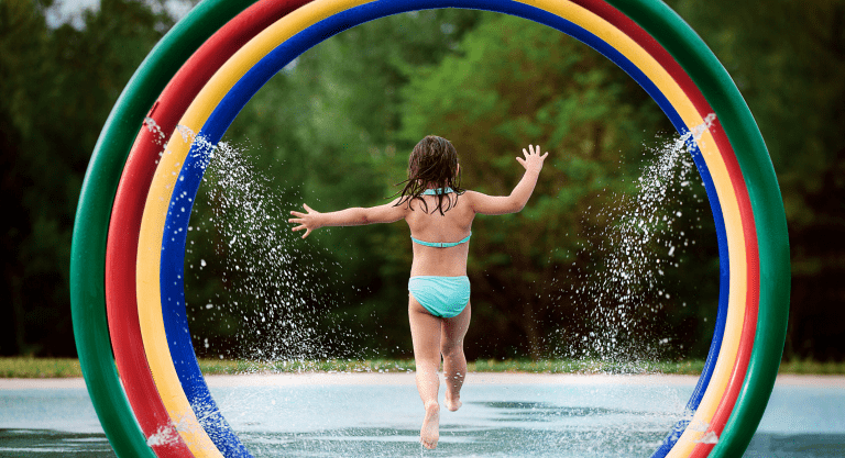 Free Wichita Splash Parks and Fountains for Kids