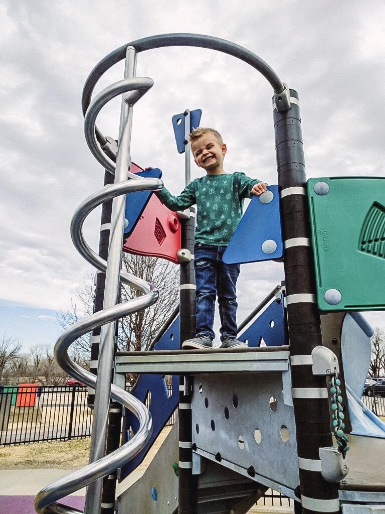 Sedgwick County Park Boundless Playground