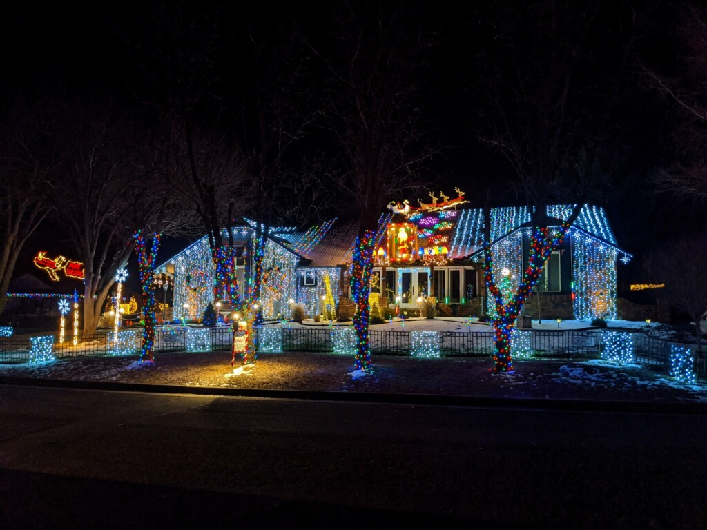 Christmas Light Wichita Ks 2020 Map Where to See the Best Christmas Lights in Wichita 2020