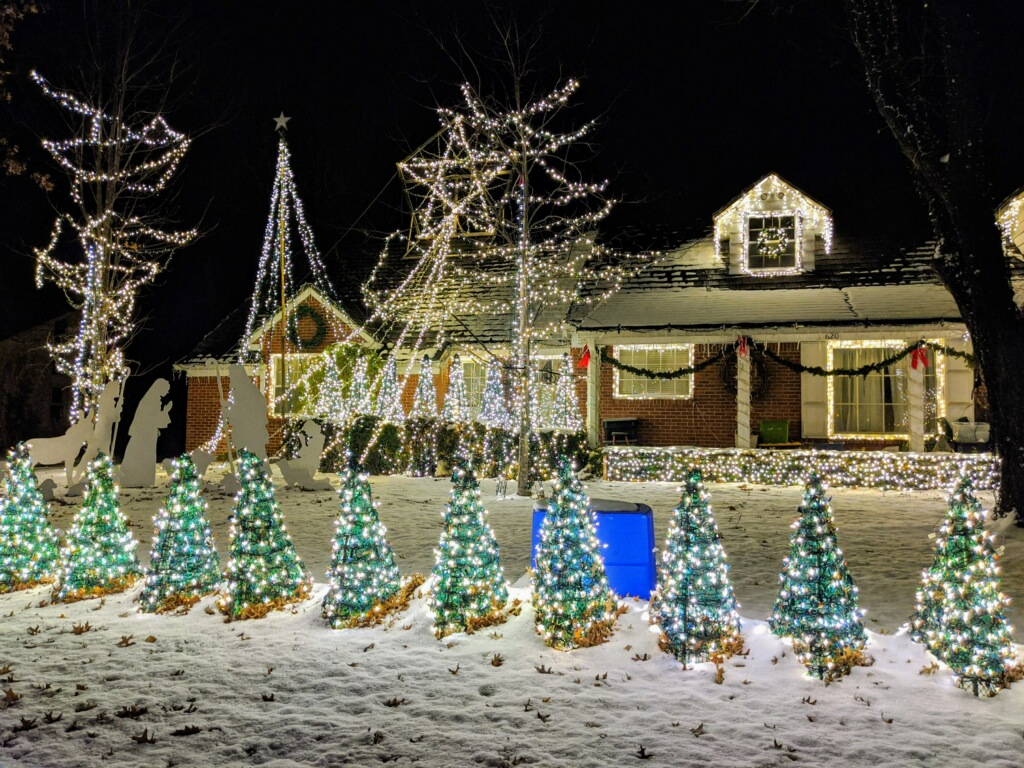 Christmas Lights Wichita 2020 Where to See the Best Christmas Lights in Wichita 2020