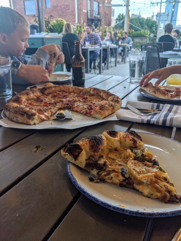 halls pizza okc ginny