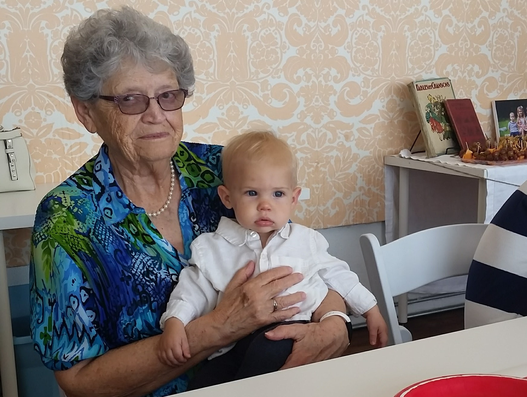 grandma and baby boy