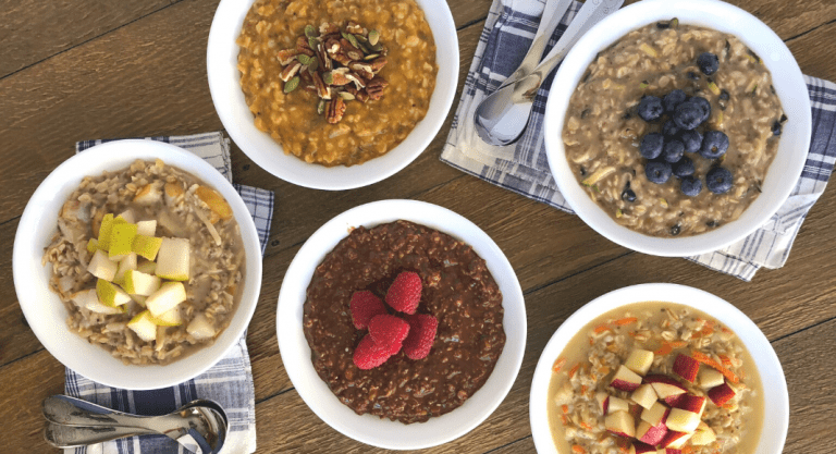 5 Kid-Approved, Veggie-Loaded Oatmeal Recipes for Busy Mornings