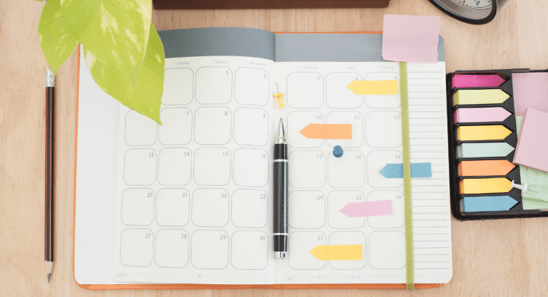 10 Tips for Utilizing your Planner & Organizing Your Life