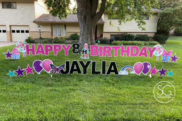Wichita Birthday Sign Gypsies