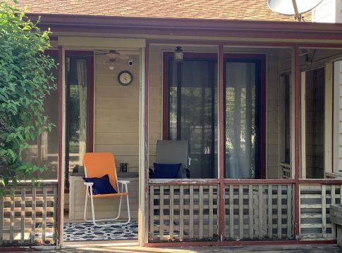Inexpensive patio diy