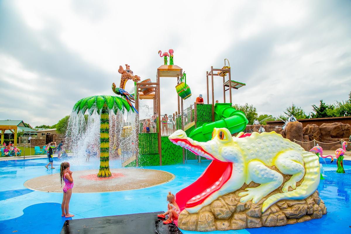 Tanganika Falls Splash Park