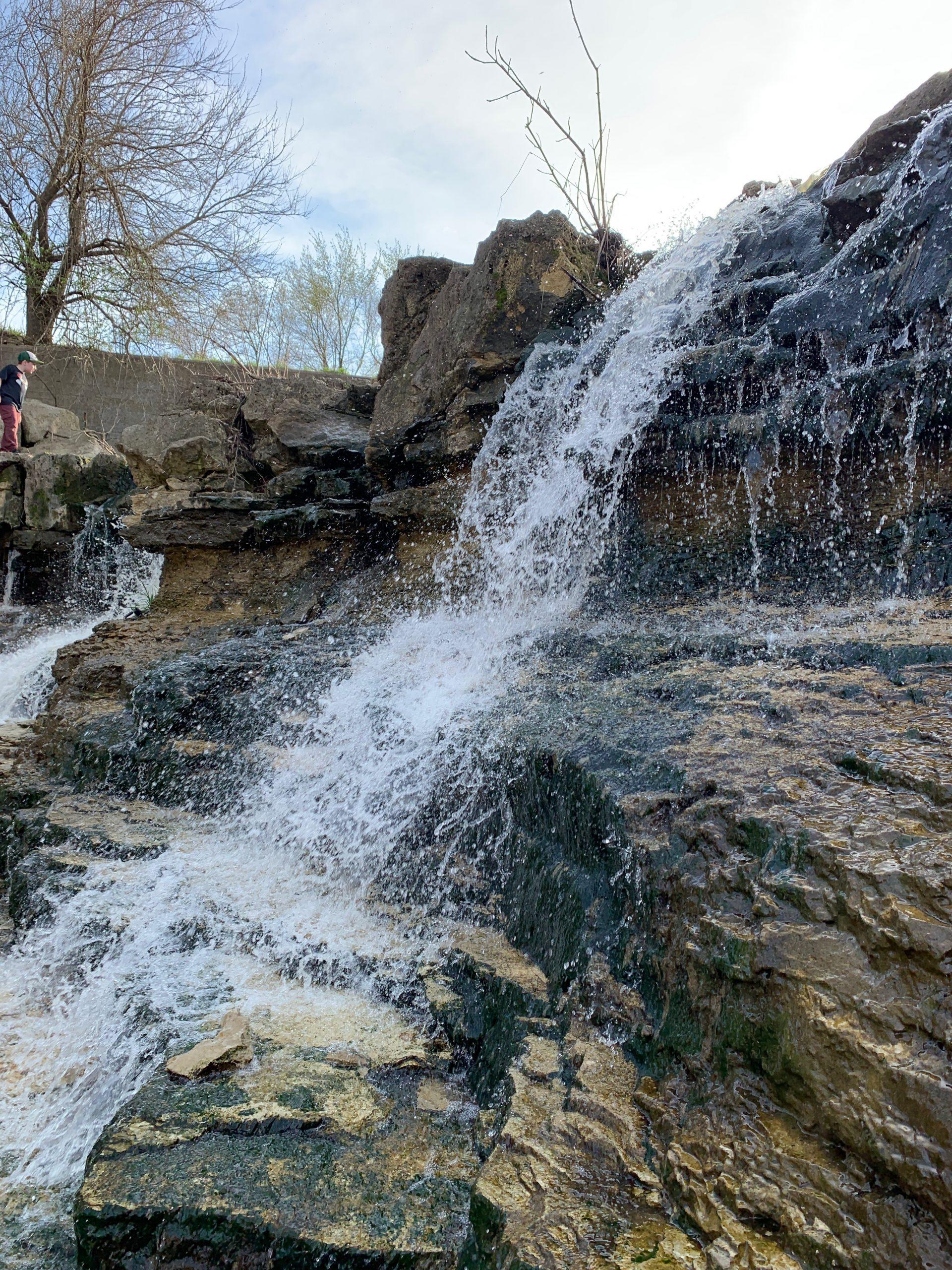 Santa Fe Lake Waterfall