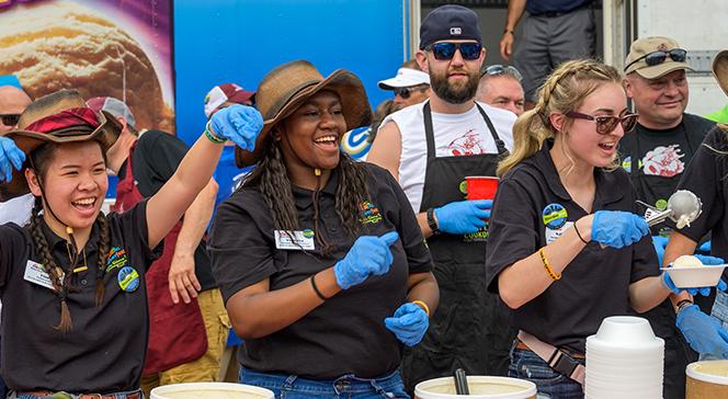 Wichita Riverfest Ice Cream Social