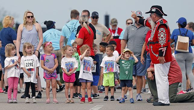 Wichita Riverfest Tot Trotters