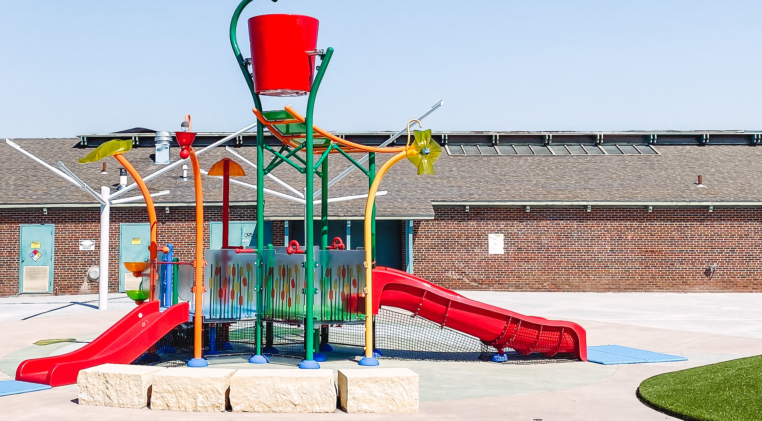 Wichita Splash Parks and Splash Pads